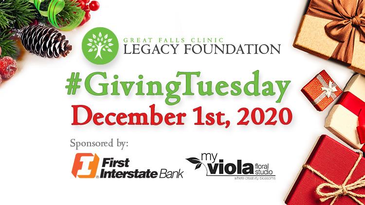 GFC Legacy Foundation #GivingTuesday Flyer