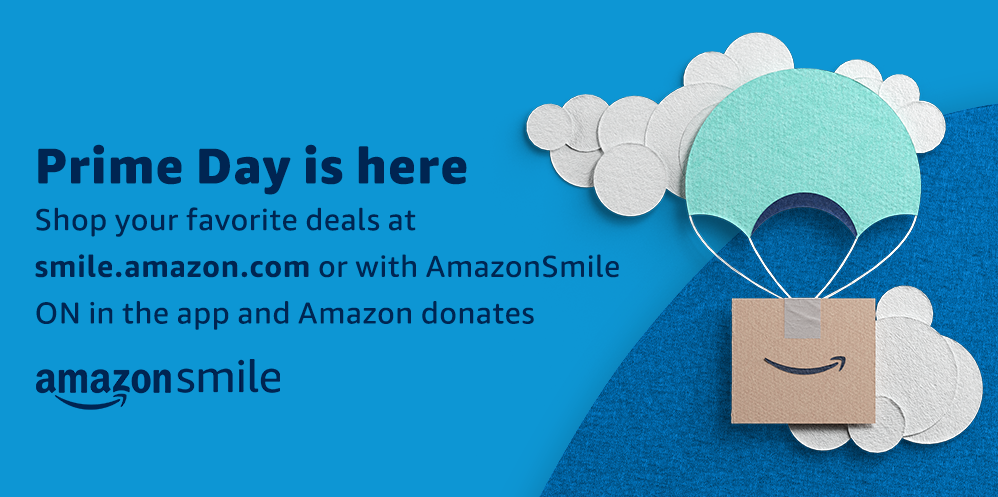 Image saying 'Prime Day is here'